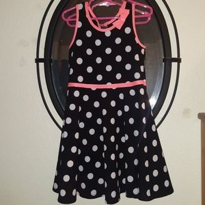 Girls Pinky Sleeveless dress